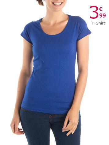 tshirt basic femme
