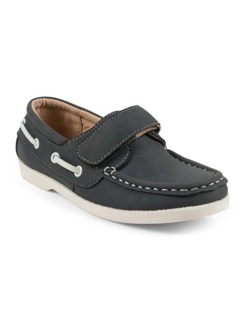 Chaussures bateau garçon bleu (28-34)