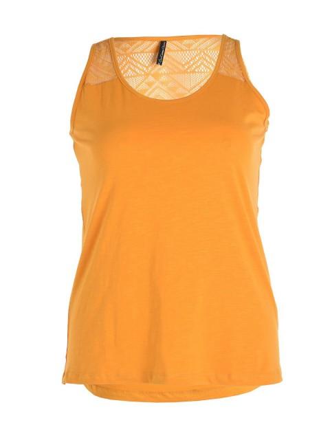 T-shirt sans manches grande taille femme