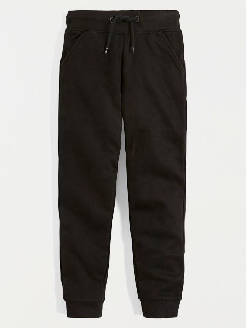 Pantalon de jogging noir basic (2-6A)