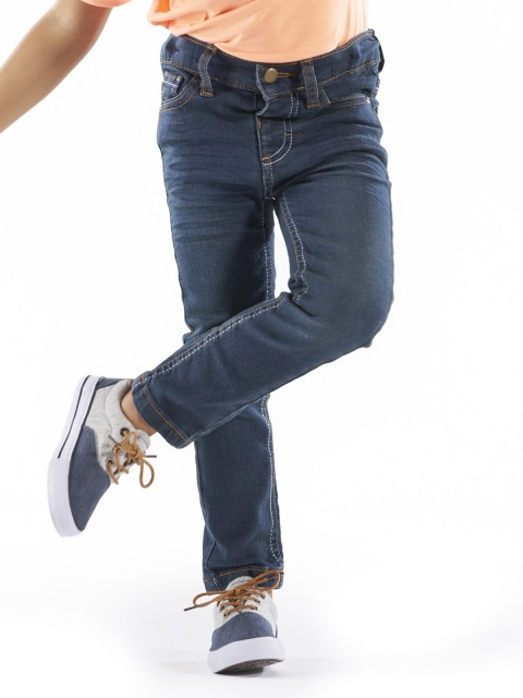 Pantalon Slim avec poches garçon (2-6A)