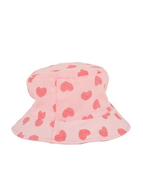 chapeau fille coeur