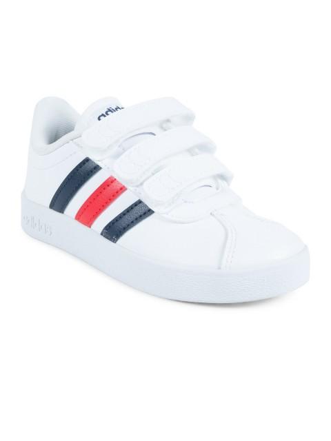 Basket Adidas blanc garçon (28-35) - DistriCenter