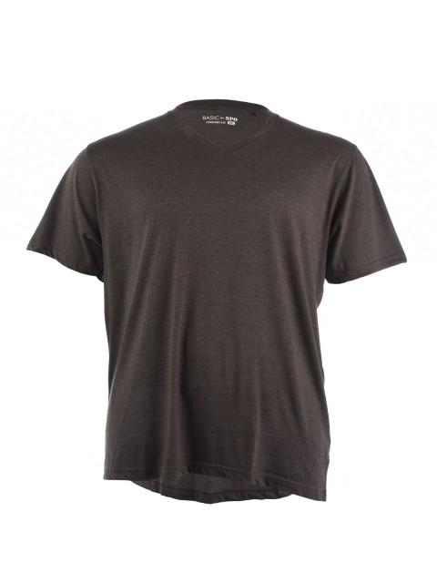 T-shirt uni à manches courtes homme