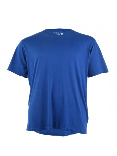 Tee-shirt grande taille 100% coton homme
