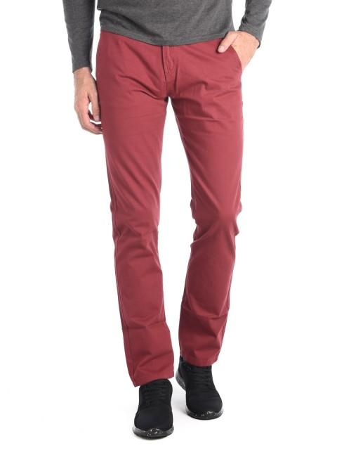Pantalon chino uni 100% coton