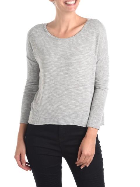 Tee-shirt femme dos macramé