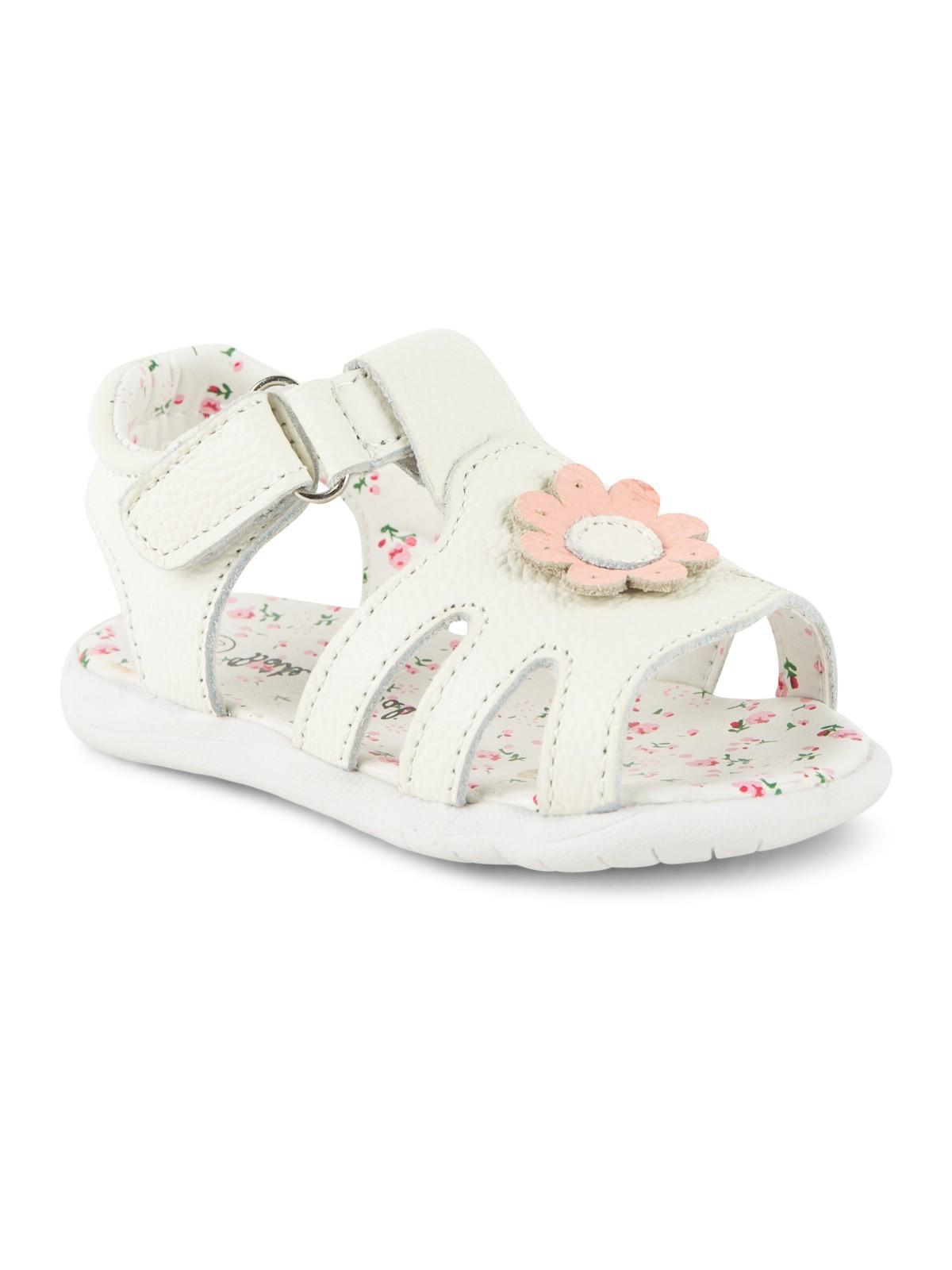 sandales cuir a marguerite bebe 19 23 districenter With tapis chambre bébé avec fleur de bach 77 composition