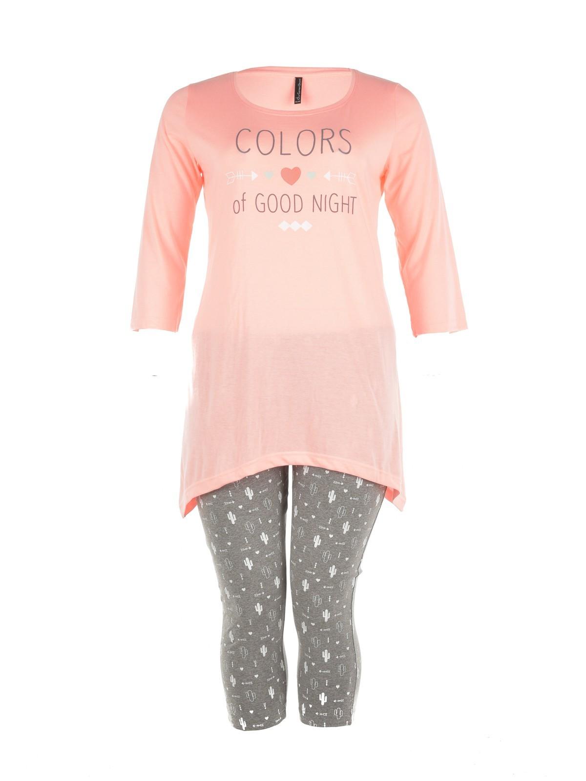pyjama court grande taille femme districenter. Black Bedroom Furniture Sets. Home Design Ideas