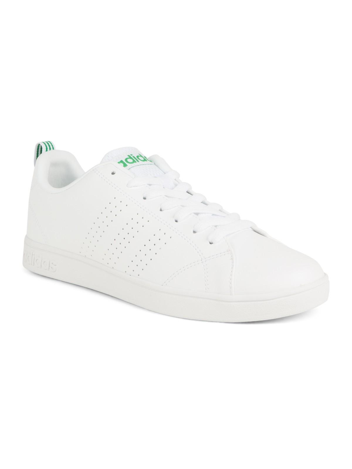 adidas neo blanche et verte