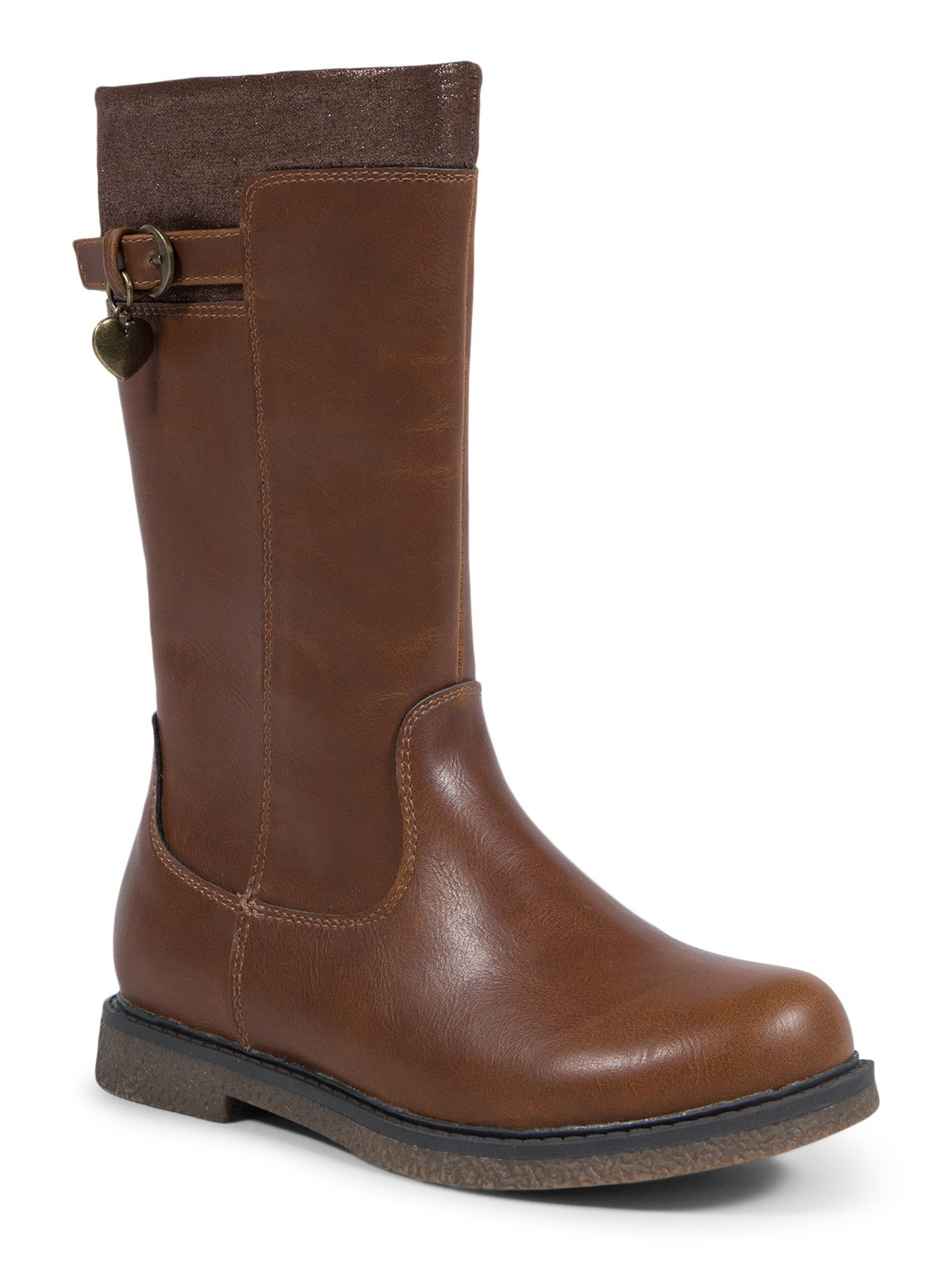 cd702ccb1fc31 Bottes marron fille (28-34) - DistriCenter