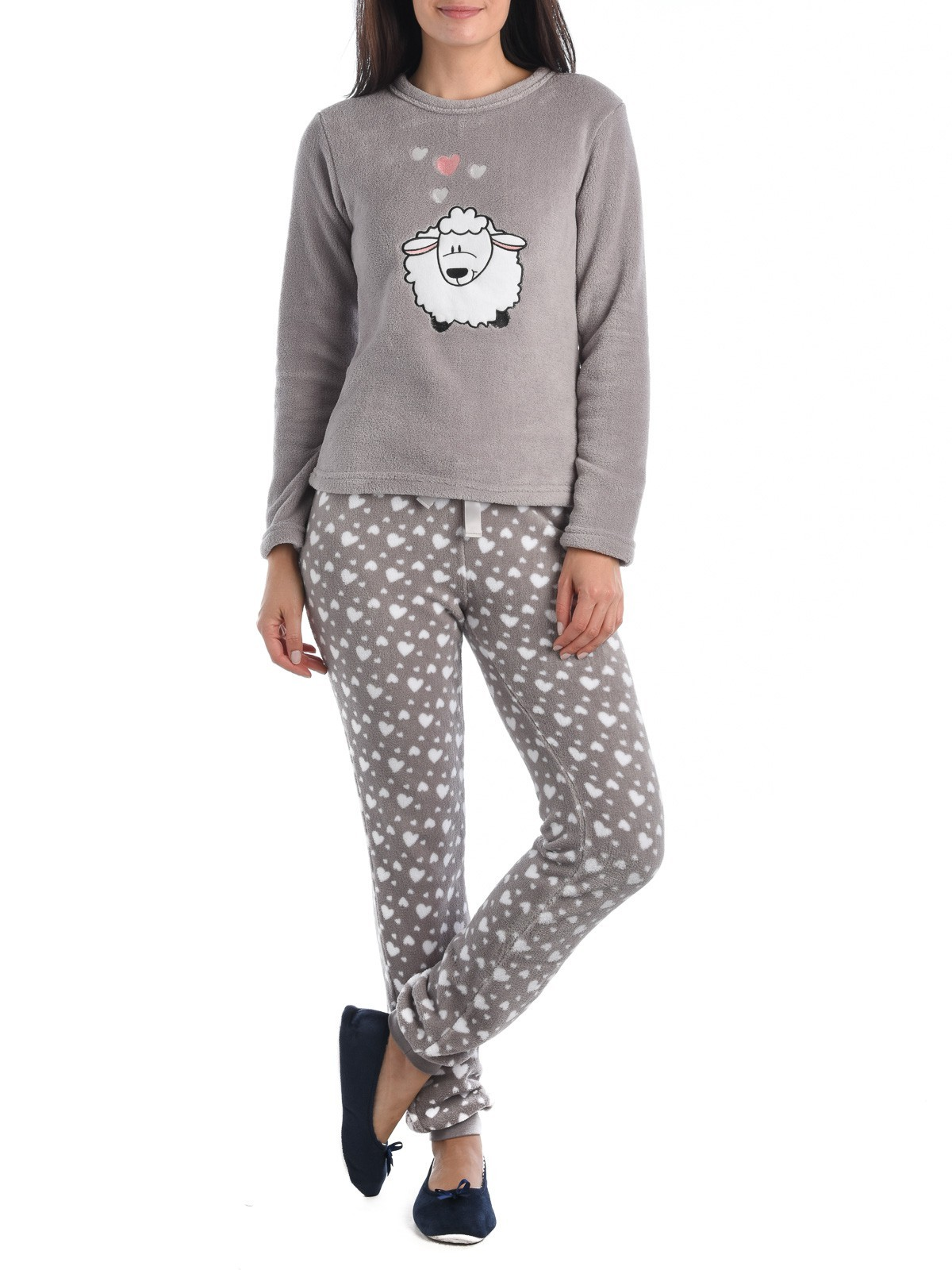 aa02a2400007b Pyjama polaire femme - DistriCenter