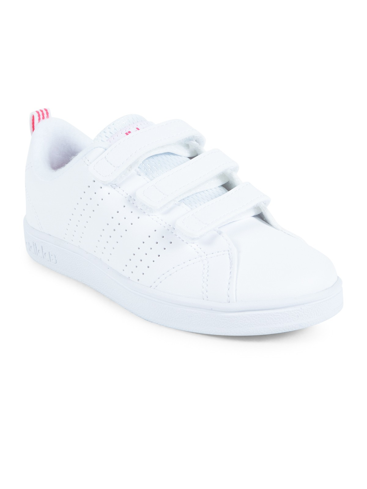 Basket Adidas fille blancrose (30 35) DistriCenter