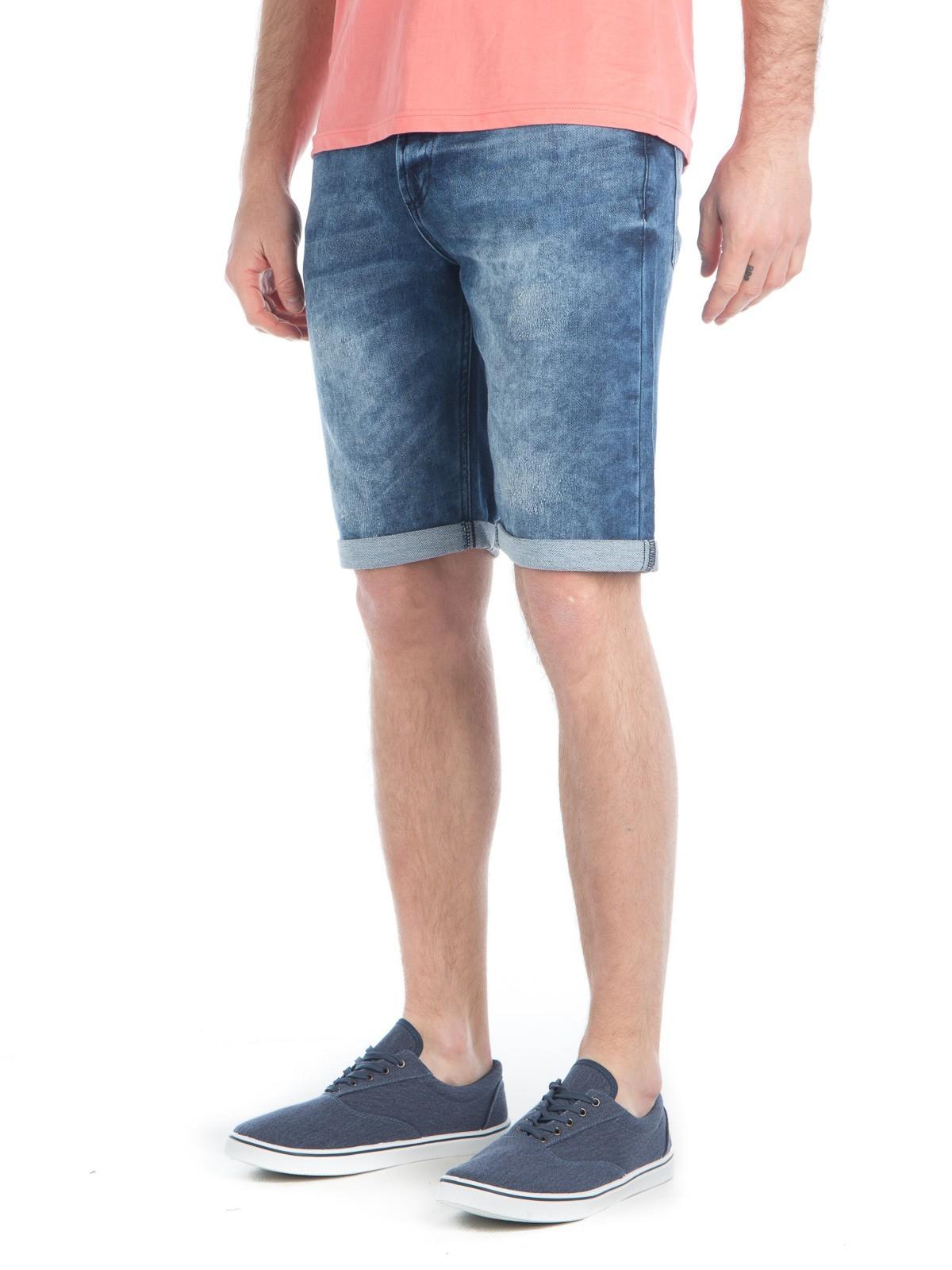 fa85a73d46d Short jean homme coloris double stone - DistriCenter