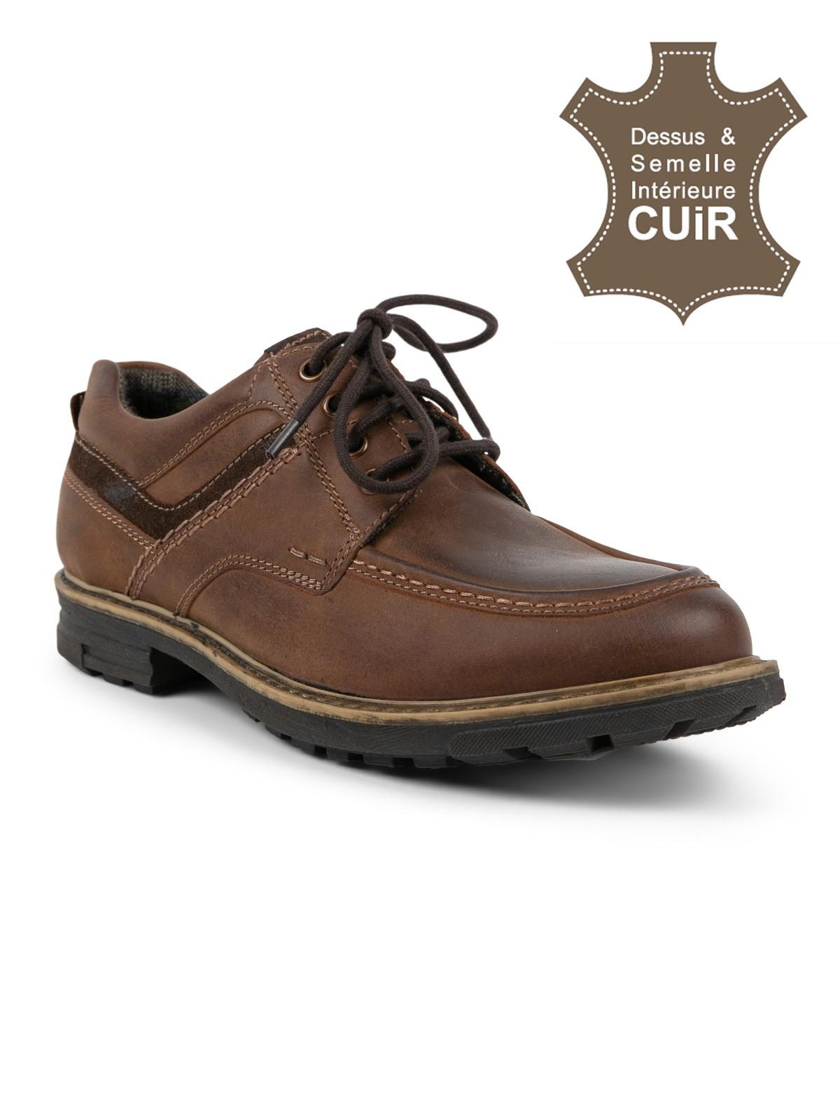 styles de mode sélection spéciale de chaussures détente cuir