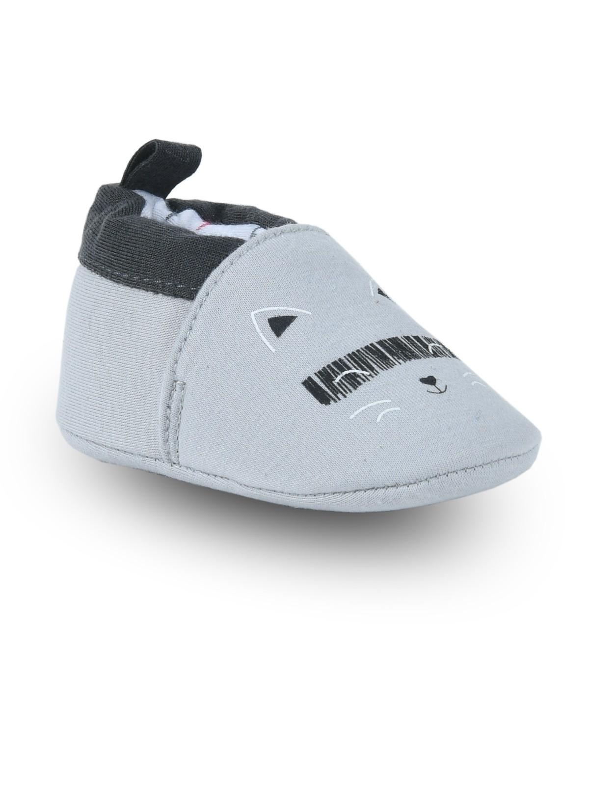 économiser 3e21e 6ab03 Chaussons bébé gris garçon (16-20) - DistriCenter