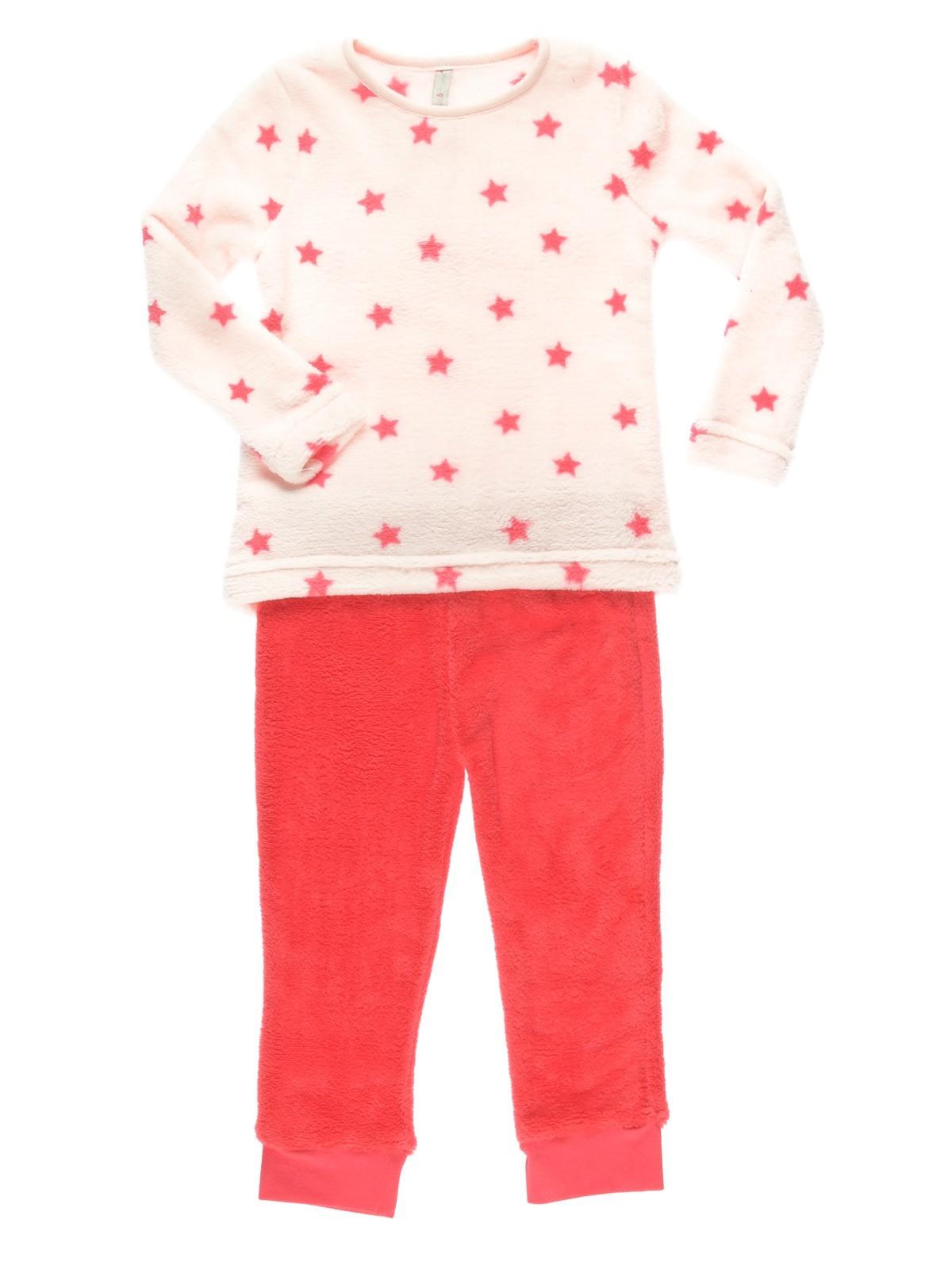 f258844220b81 Pyjama fille polaire étoiles (3-8A) - DistriCenter
