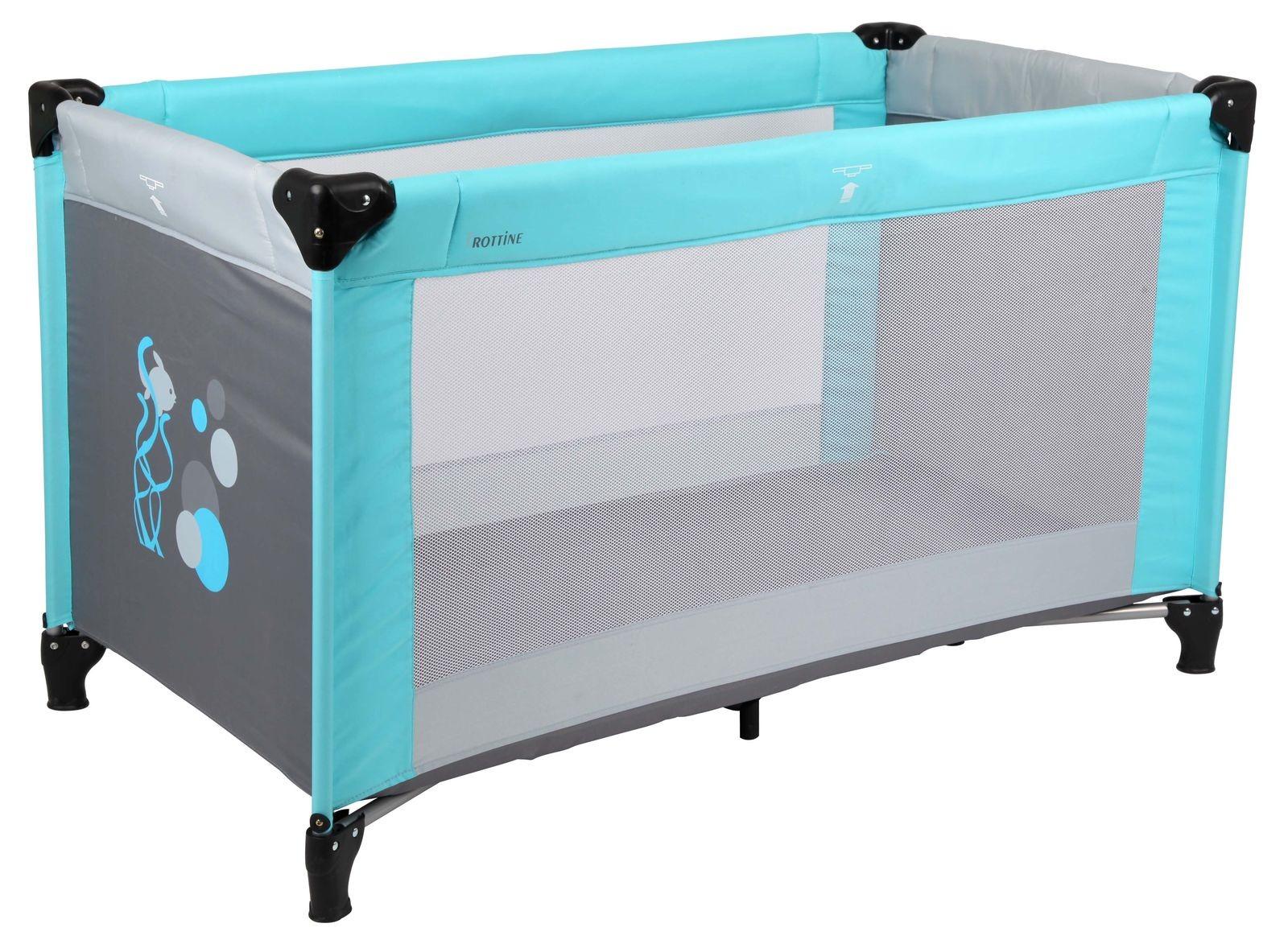 lit parapluie 60x120cm trottine districenter. Black Bedroom Furniture Sets. Home Design Ideas
