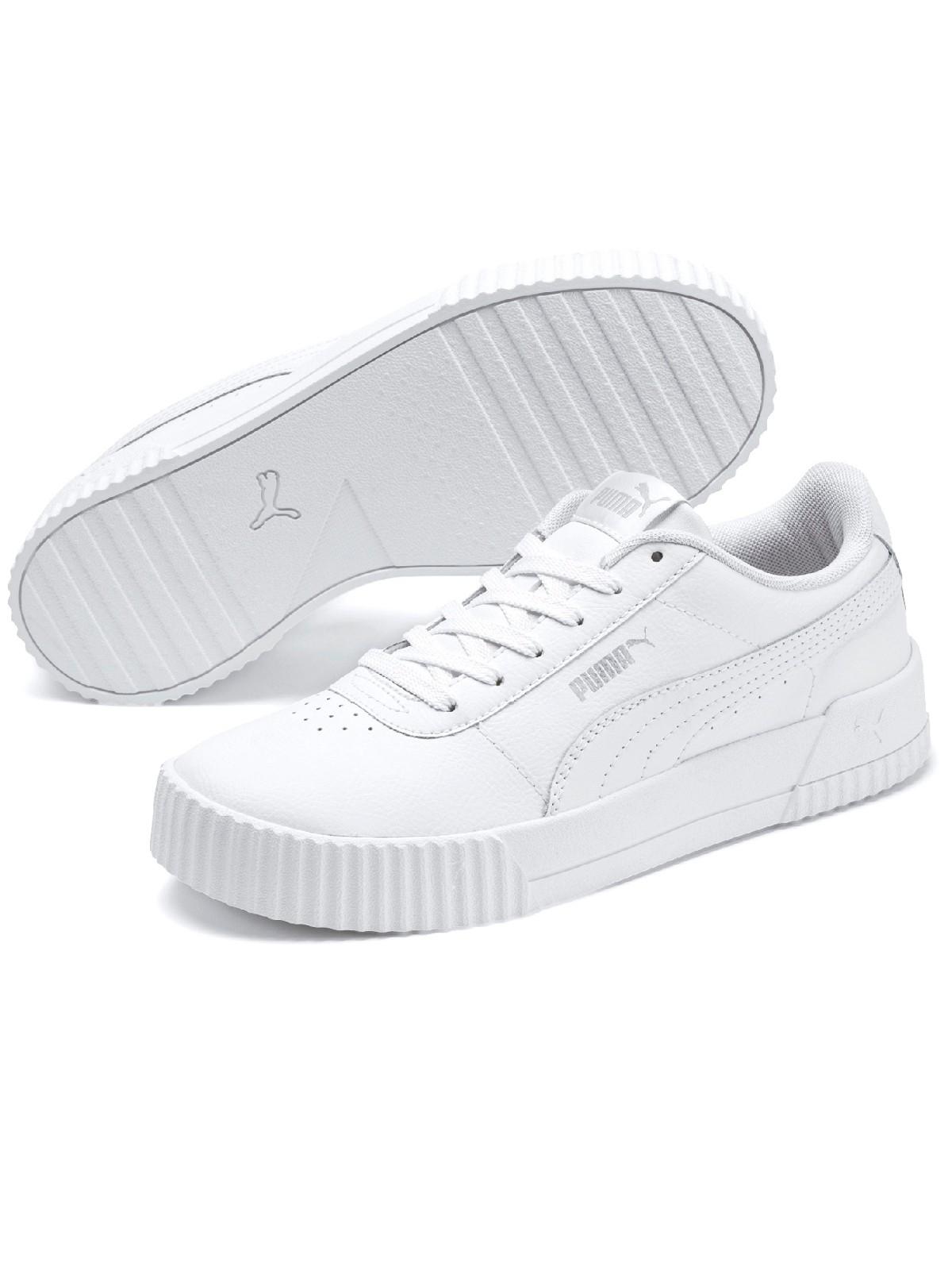 Baskets Puma blanche femme (36 41) DistriCenter