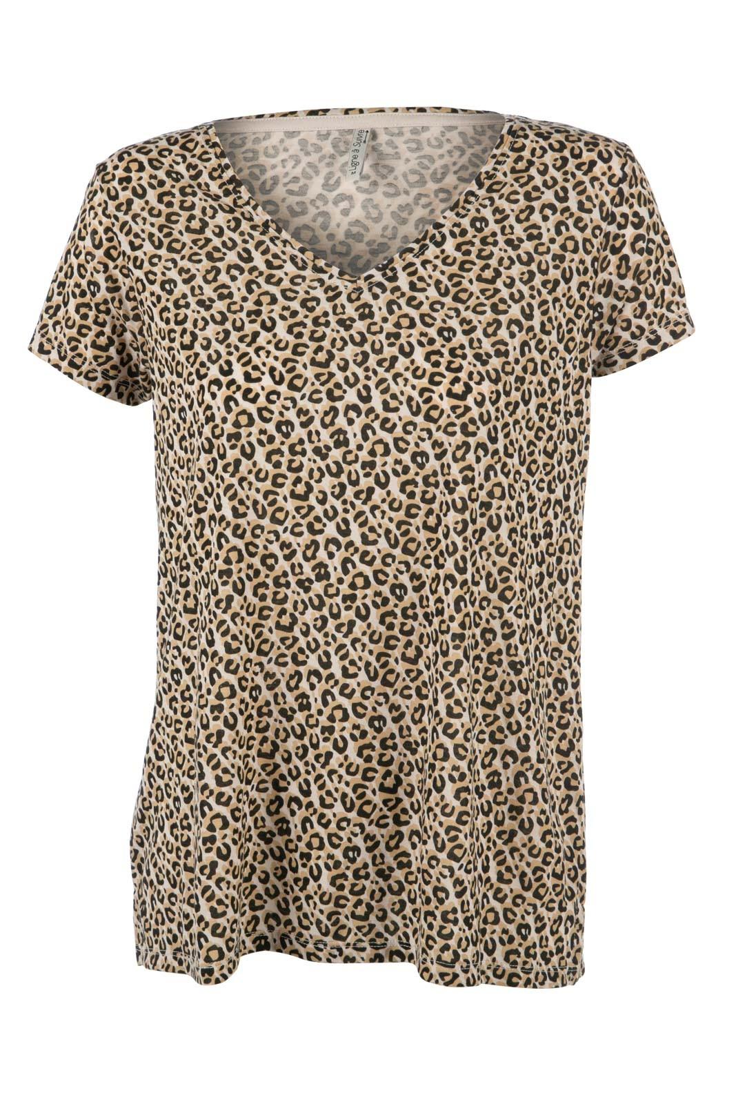 T shirt imprimé léopard femme DistriCenter