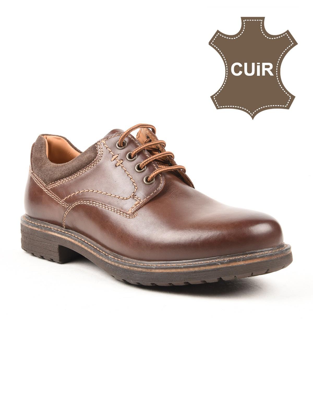 Districenter Homme Détente Chaussures Chaussures Cuir 7f6yIYbgmv