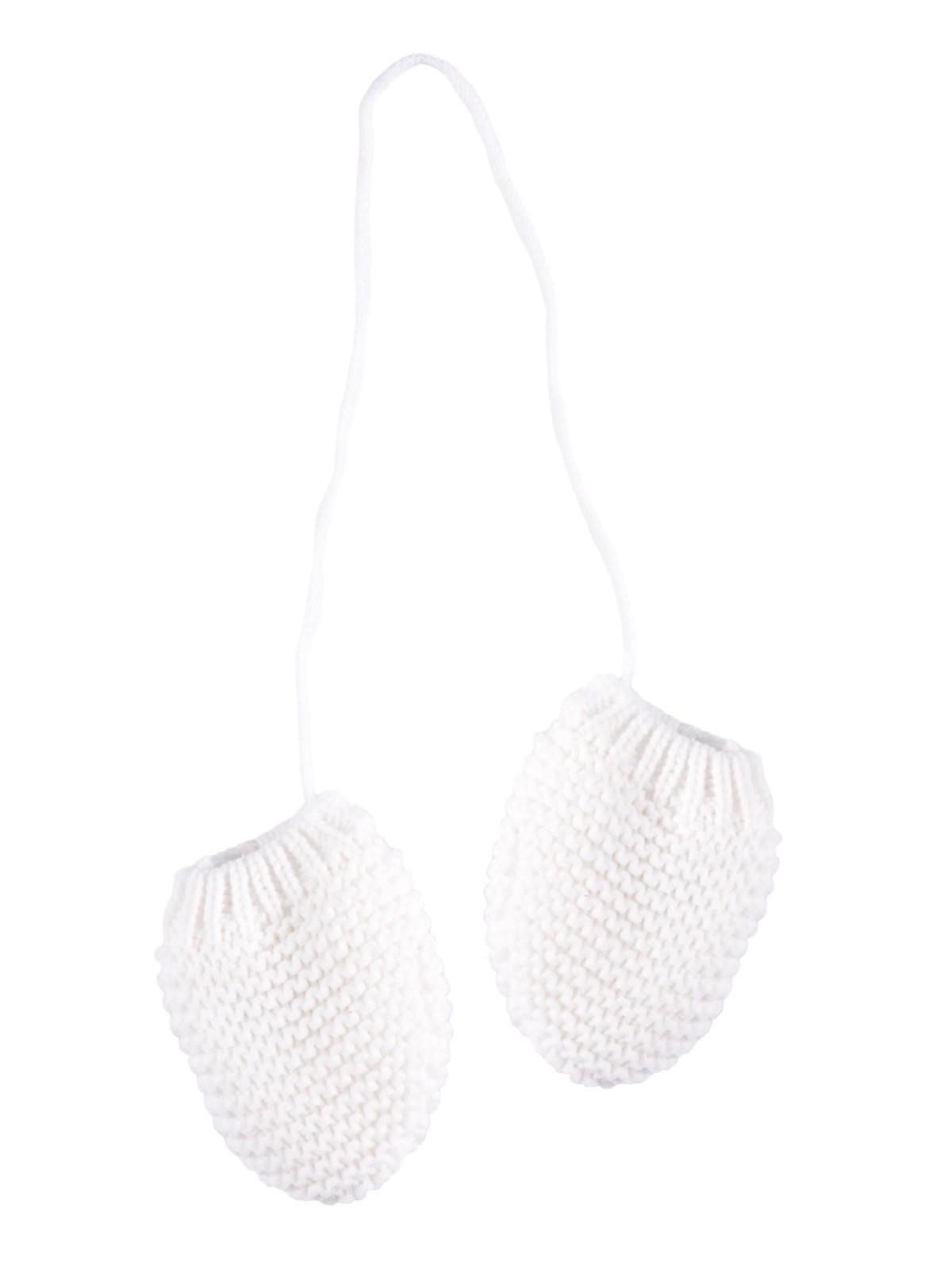 a193389e1b8c Moufles avec cordon pour bébé - DistriCenter
