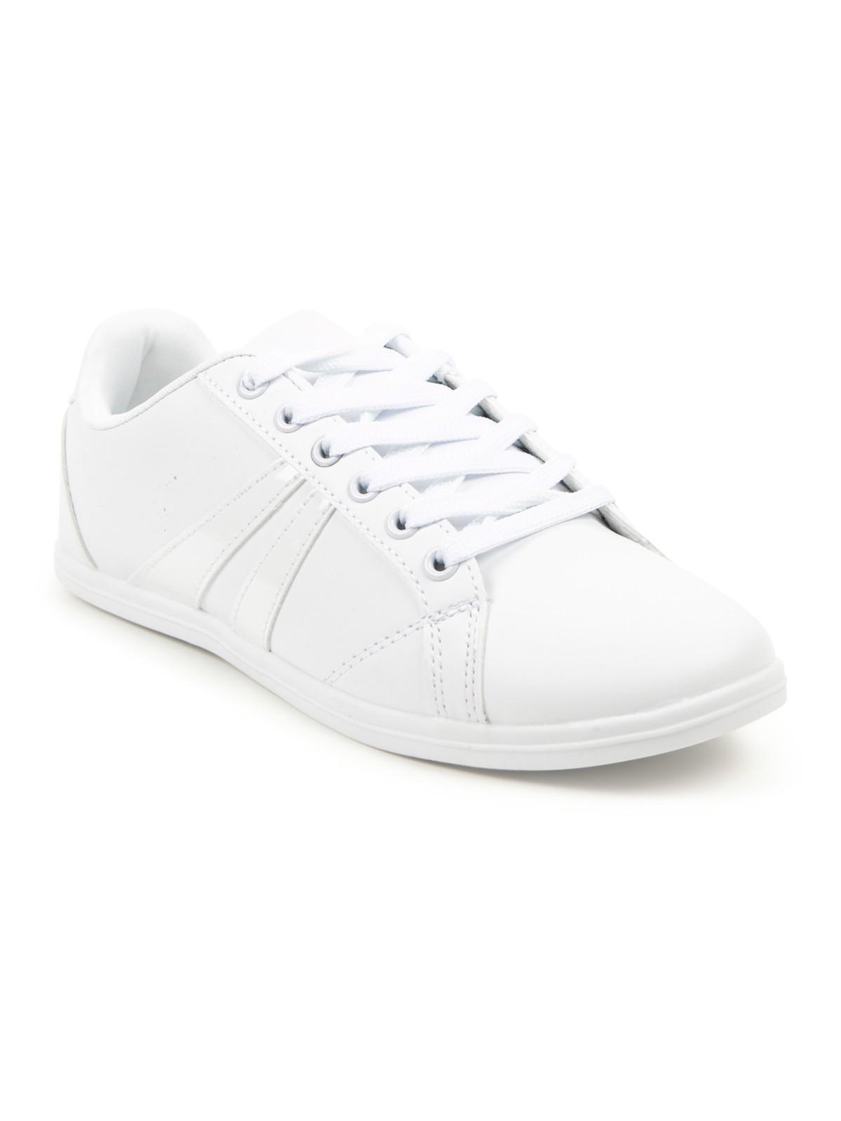 Baskets blanches pour femme (36-42) - DistriCenter eec68d605fcf
