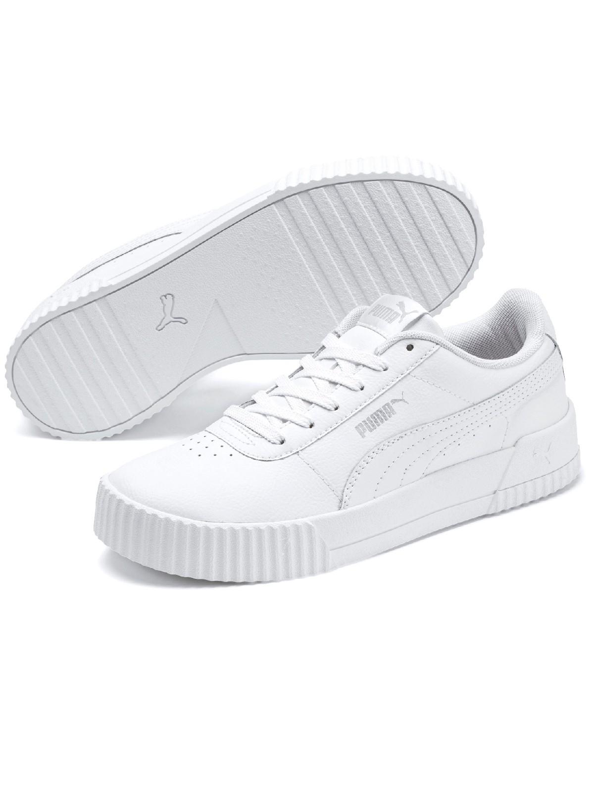 Baskets Puma blanche femme (36-41) - DistriCenter