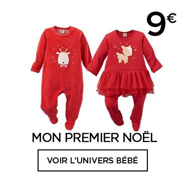 Pyjamas Noël bébé