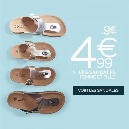 Promotions Sandales