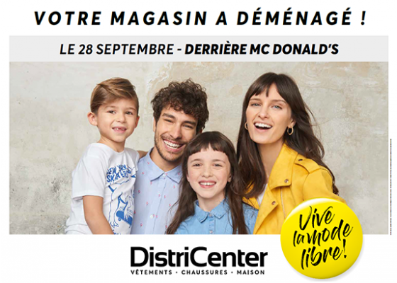 Déménagement DistriCenter Pontivy