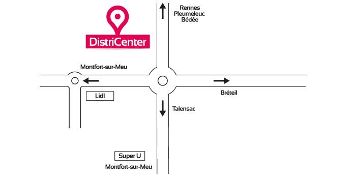 Ouverture Nouveau magasin DistriCenter Montfort sur Meu