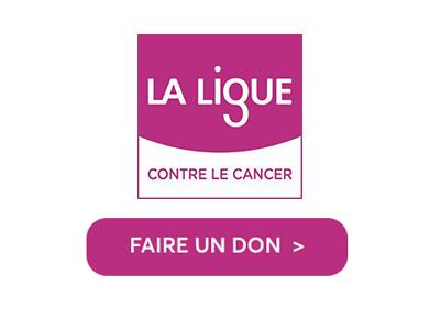Faire un don à la ligue contre le cancer