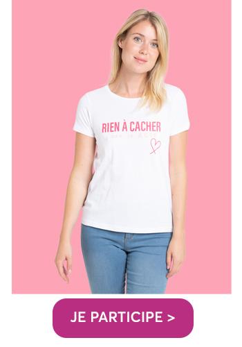 T-shirt Rien à cacher